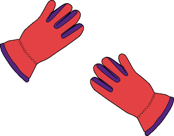 2 Gloves Clip Art at Clker.com.