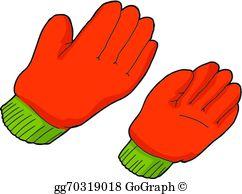 Work Gloves Clip Art.