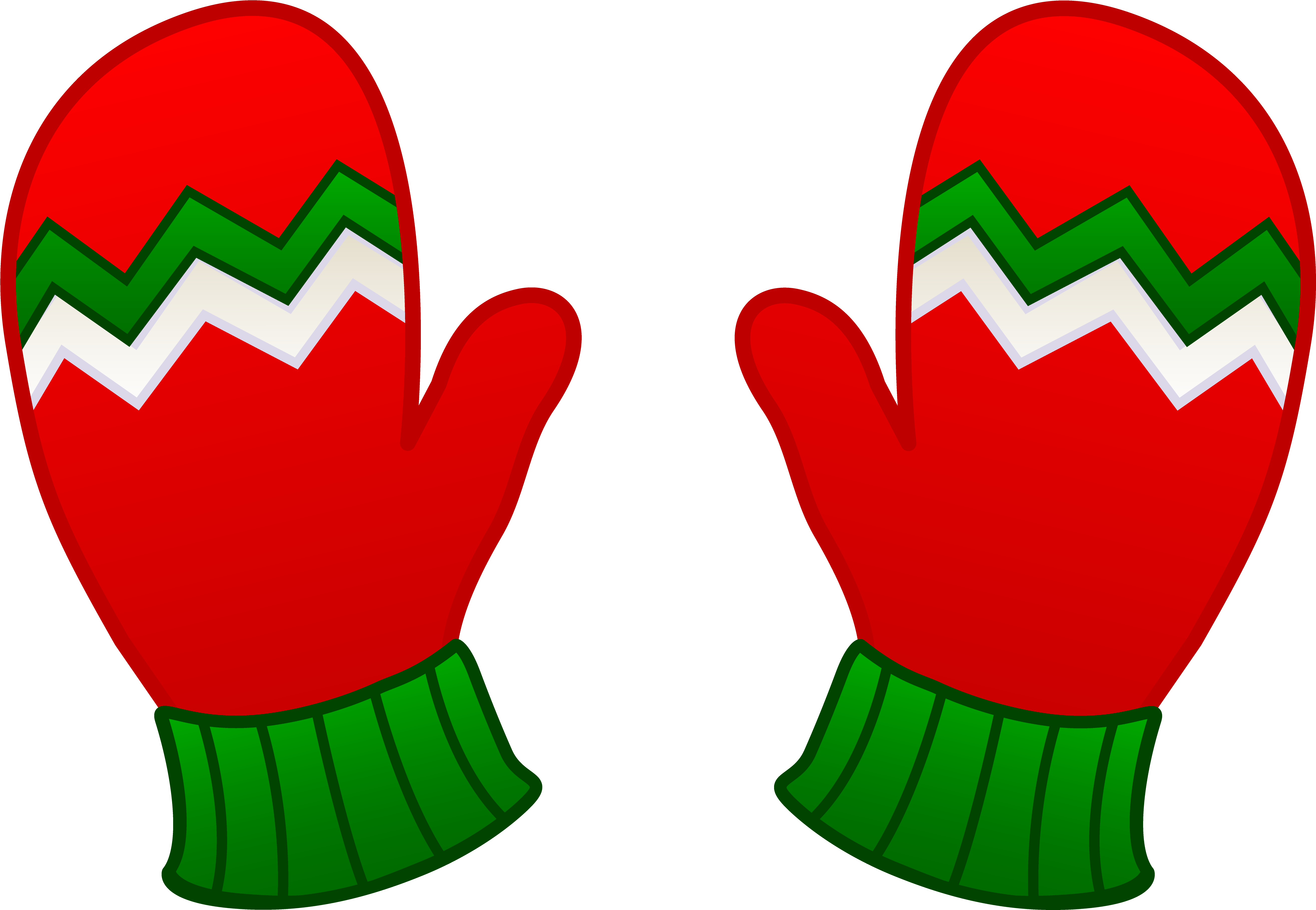 Free Clip Art Christmas Resume Kids Mittens.
