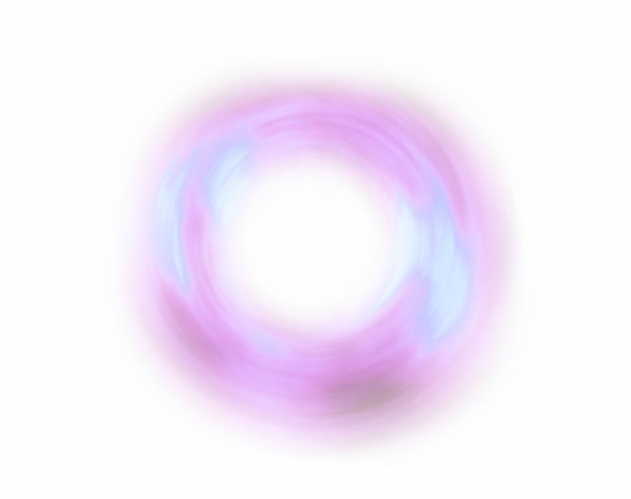 Ftestickers Effect Light Glow Pink Purple Circle.