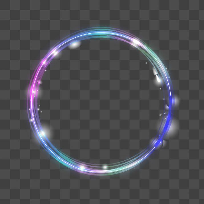 circle glow PNG.