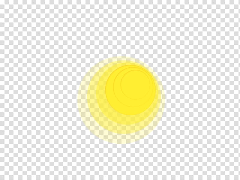 Yellow Light Halo, Yellow glow transparent background PNG.