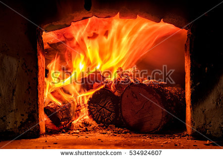 Firewood Oven Stock Photos, Royalty.