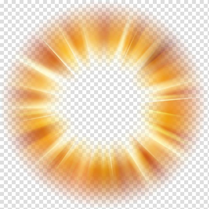 Light Desktop , Glow Over Orb , lighting transparent background PNG.