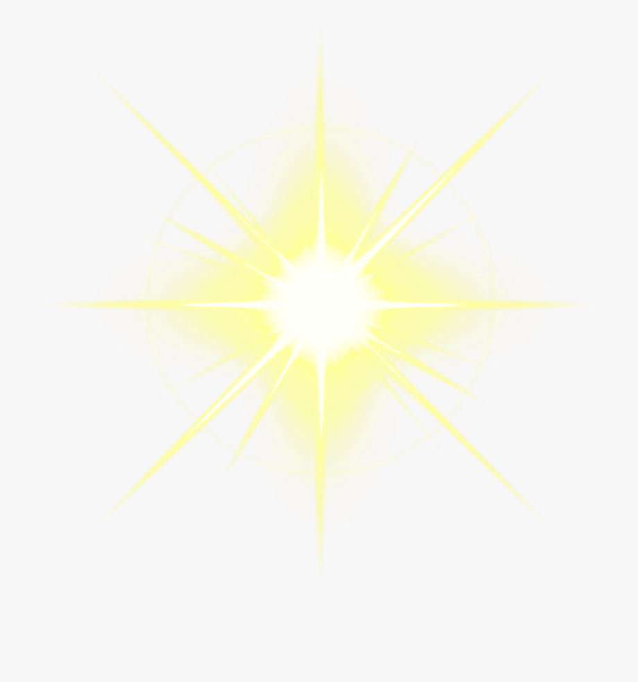 Light Flare Clipart Glowing Star.