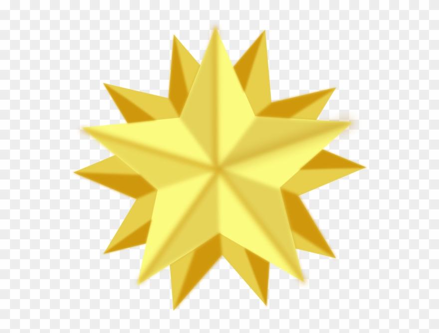 Glowing Star Gif.