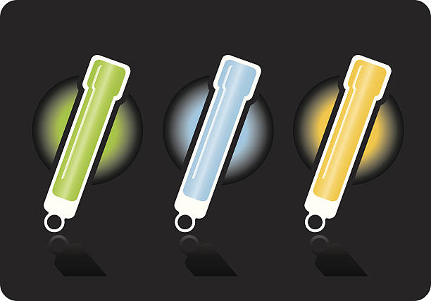Best Glow Stick Illustrations, Royalty.