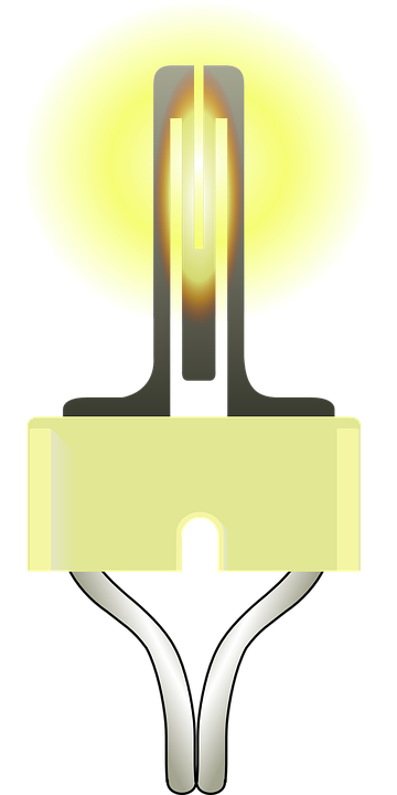Free vector graphic: Filament, Glow Wire, Light Bulb.