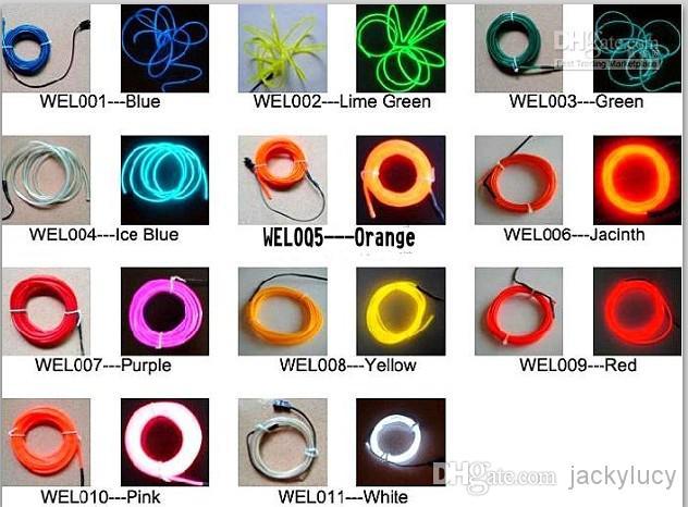 Online Cheap Flexible Neon Light Waterproof Led String Lights El.