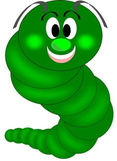 Gallery For > Simple Worm Clipart.