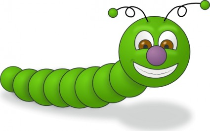 Glow Worm Clipart.