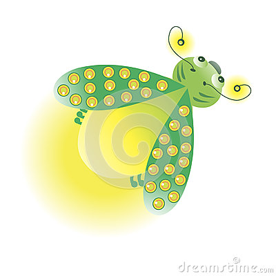 Glowworm Stock Illustrations.