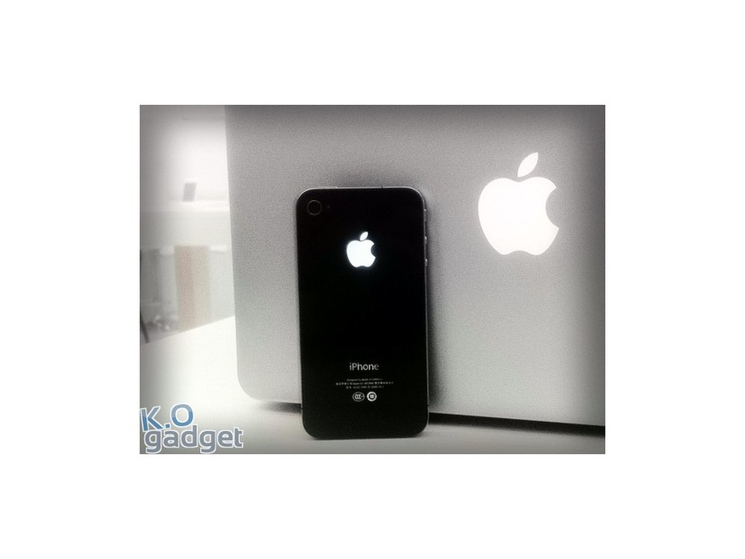 Why I don\'t recommend glowing Apple logo mods for iPhone 4.