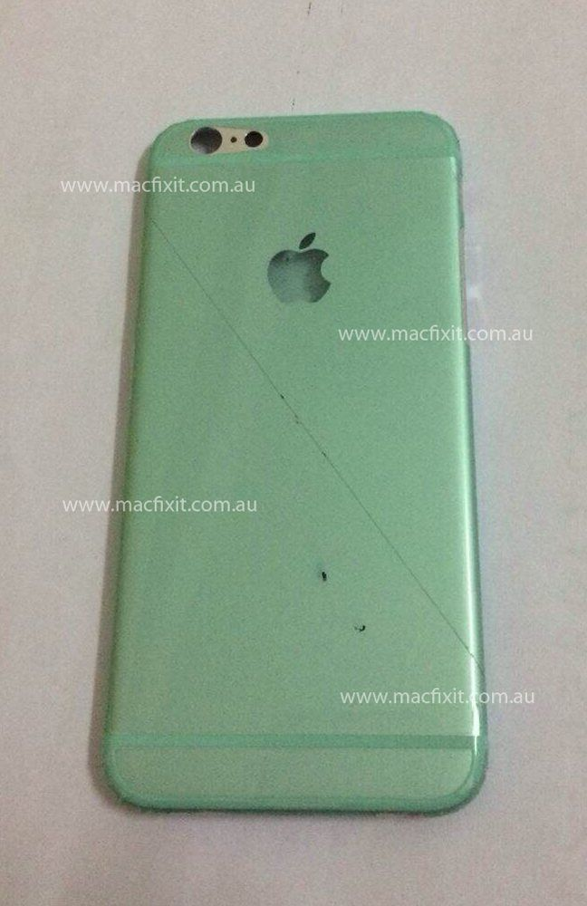The iPhone 6 could have a glowing Apple logo on the back.