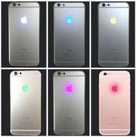 Night Glowing Lighting LED Back Logo Replacement Flex Cable for iPhone XS 7  Plus 6 6S.