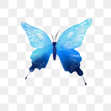 Blue Butterfly Png, Vector, PSD, and Clipart With Transparent.