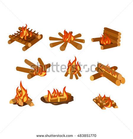 Gas Log Fireplace Stock Photos, Royalty.