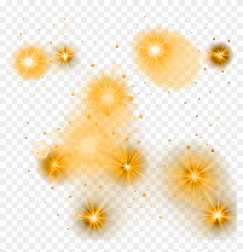 Free Png Download Yellow Glowing Lights Png Images.