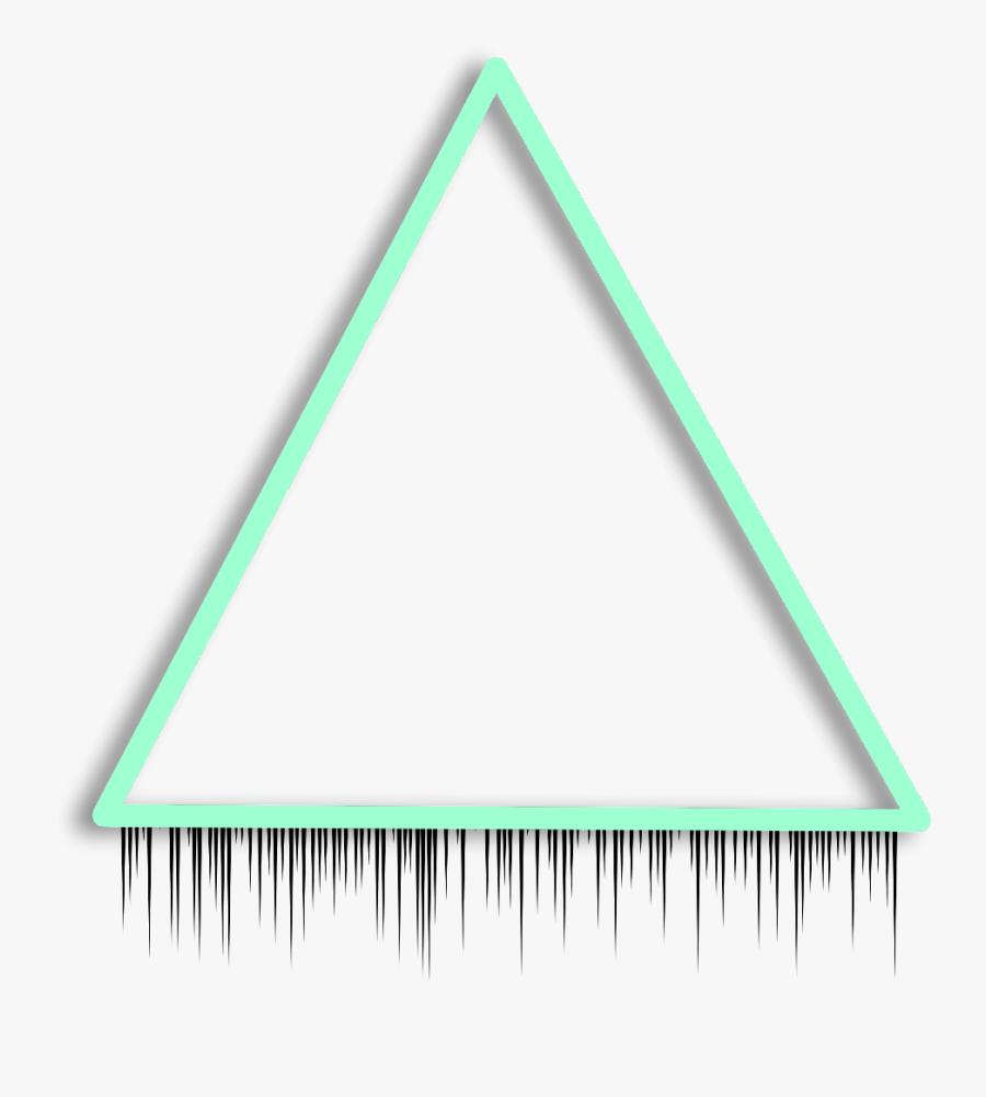Transparent Triangle Border Clipart.