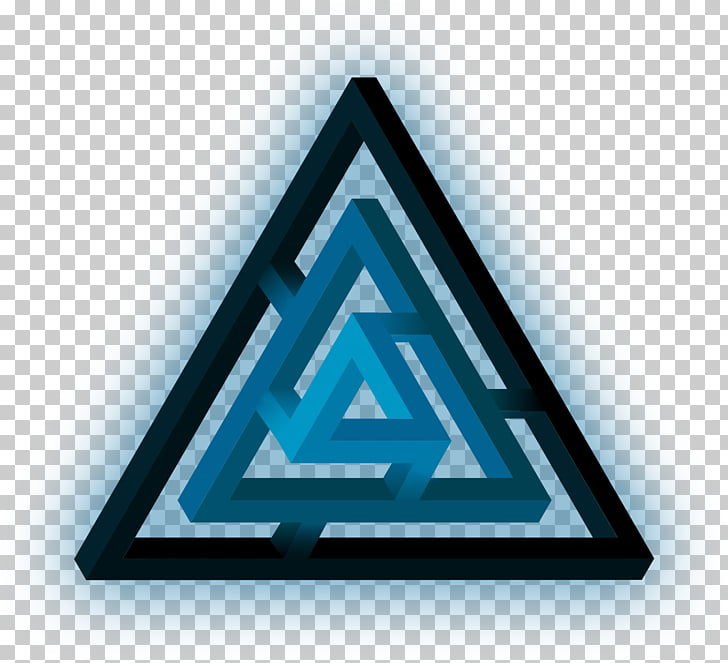 Triangle Megabyte Brand Kilobyte, glow PNG clipart.