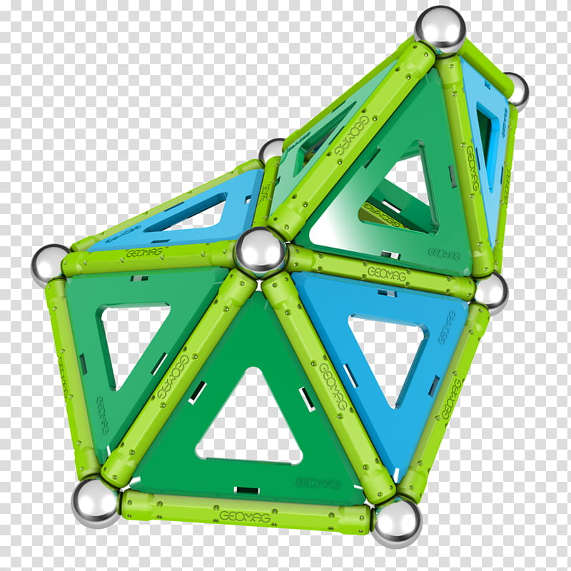 Geomag Panels Triangle, Construction Set, Construction Set.