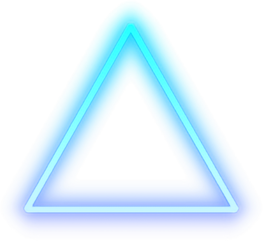 Triangle Png Glow.