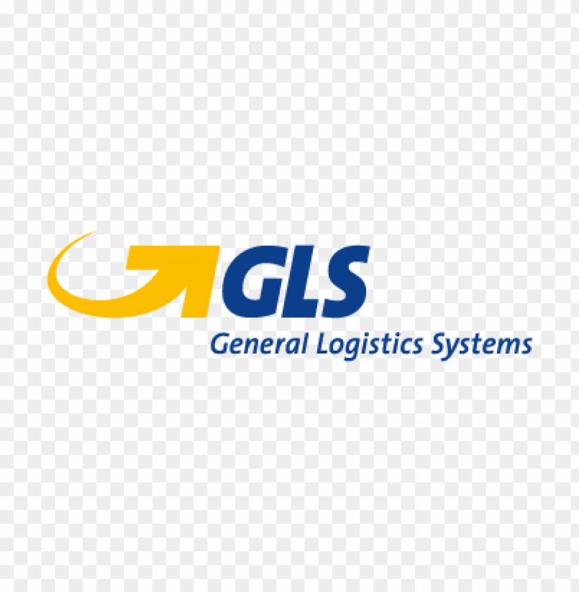 gls general logistics systems logo vector free.