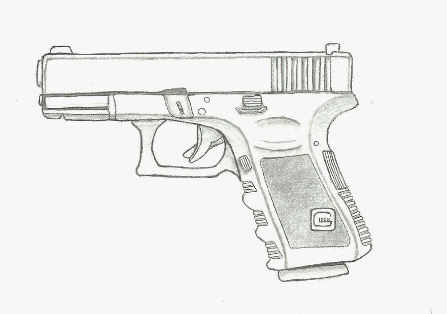 Go Back Gallery For Glock Drawing #A2kozD.