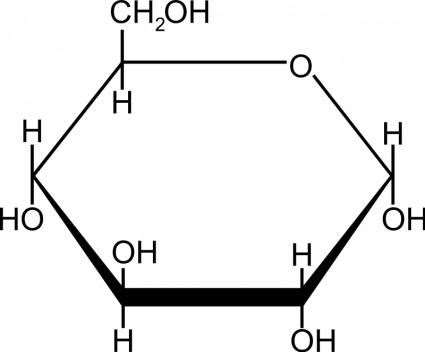 Glucose Clipart.