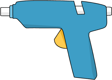 Glue Gun Clip Art.