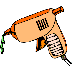 Glue Gun Clip Art Shot.