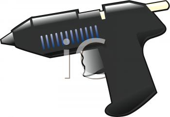 Hot Glue Gun Clip Art.