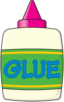 School glue stick clipart.