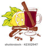 Mulled Wine Free Vector Art.