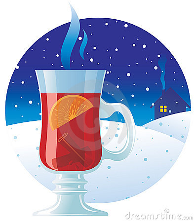 Hot Wine Snow Stock Photos, Images, & Pictures.