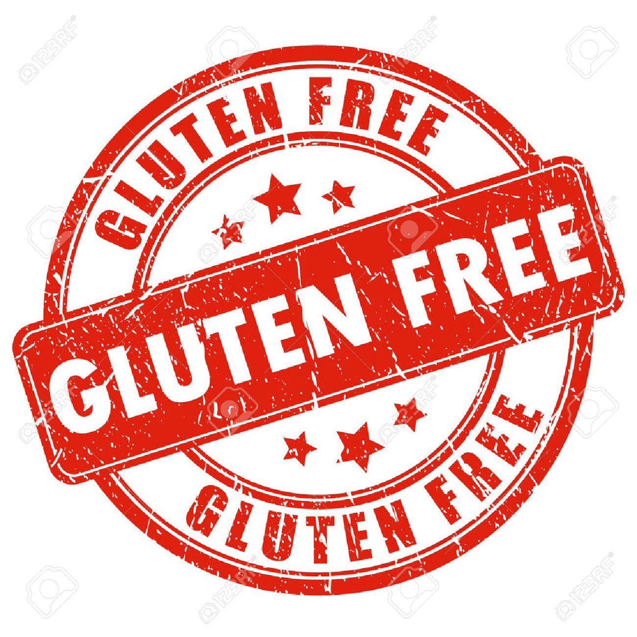 Gluten free stamp.