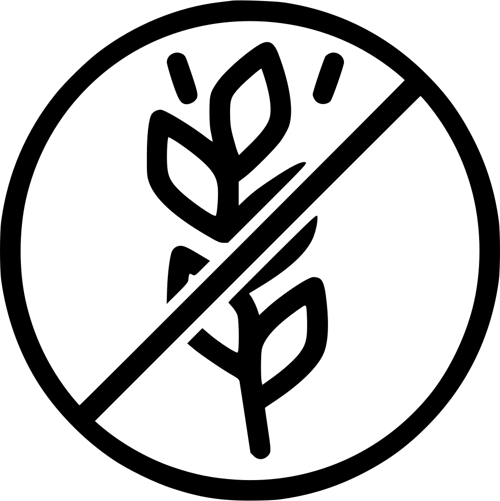 No Wheat Gluten Free Allergen Allergy Antigen Svg Png Icon Free.