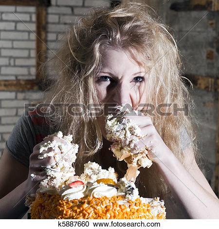 Stock Photography of Gluttony k5887660.