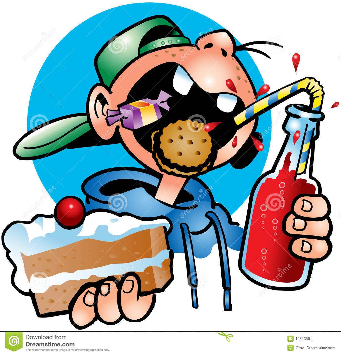 Gallery For > Glutton Clipart.