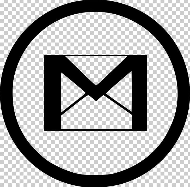 Gmail Computer Icons Email PNG, Clipart, Angle, Area, Black.