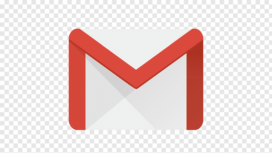 Gmail logo, triangle text brand, Gmail free png.