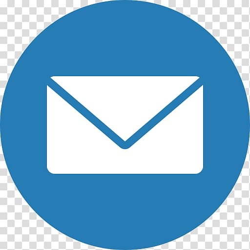 White and blue message icon illustration, Email Computer.