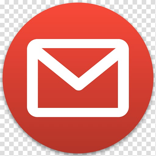 Red and white mail logo illustration, Gmail Computer Icons.