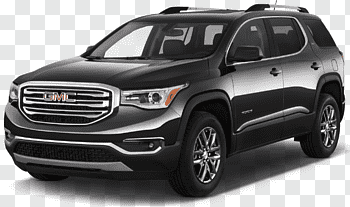 2018 GMC Acadia cutout PNG & clipart images.