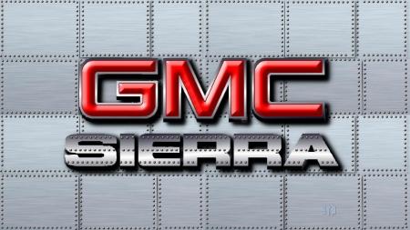 GMC Sierra logo.