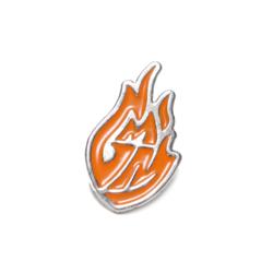 Good Mythical Morning Logo Enamel Pin.
