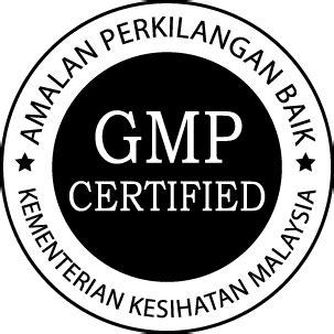 Gmp certified Logos.