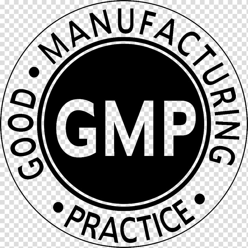 GMP logo, Good manufacturing practice Logo Certification.