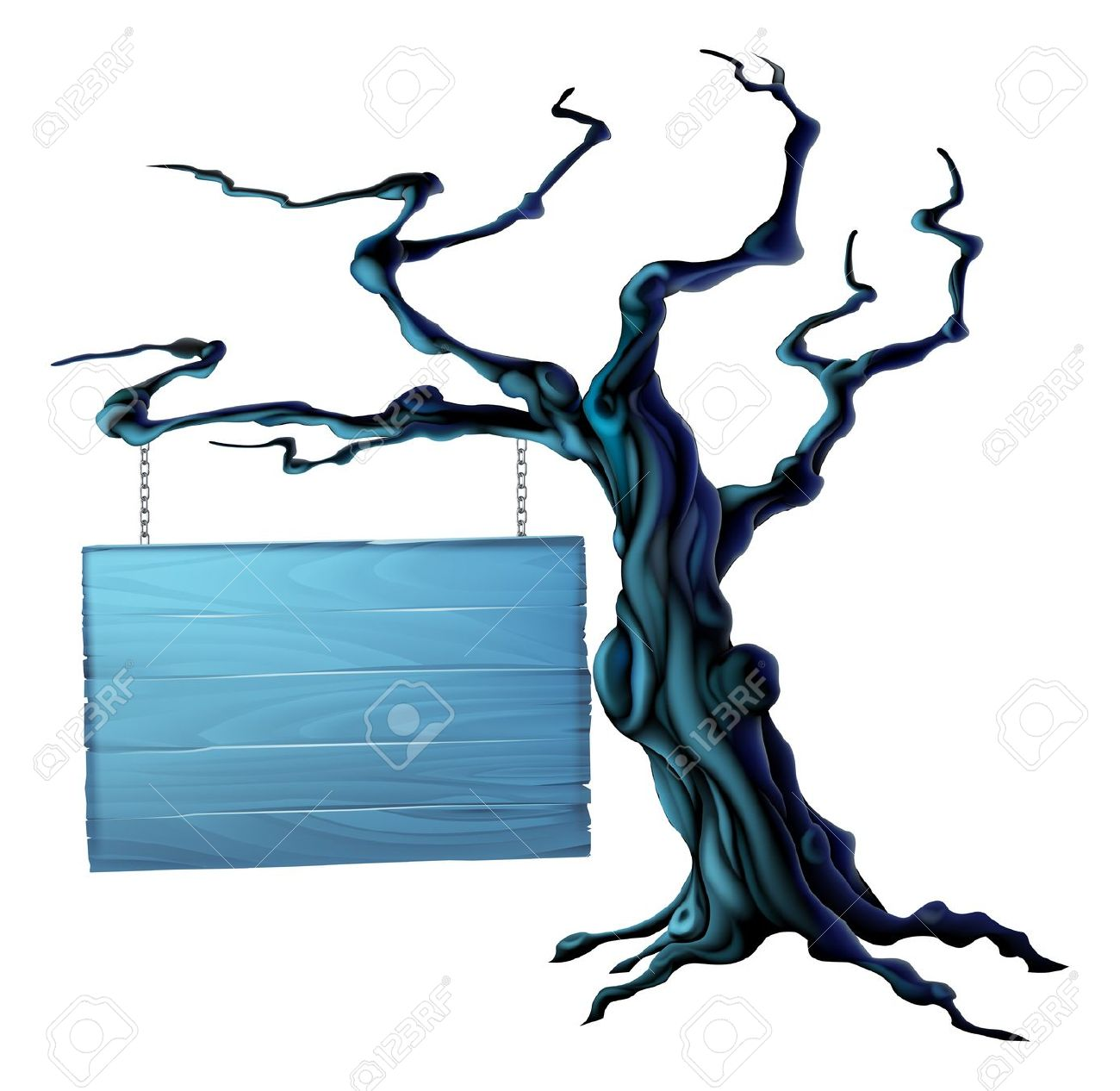 10,992 Spooky Tree Stock Vector Illustration And Royalty Free.
