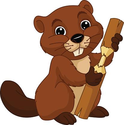 Beaver Clip Art.